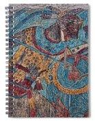 Cacaxtla Warrior I Spiral Notebook