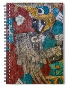 Cacaxtla Warrior II Spiral Notebook