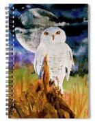 Cacciatore Di Notte Spiral Notebook