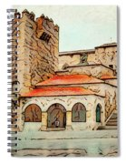 Caceres Spain Artistic Spiral Notebook