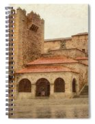 Caceres Spain Spiral Notebook