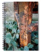 Cactus And Rust Spiral Notebook