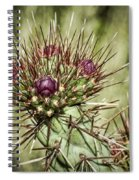 Cactus Buds Spiral Notebook