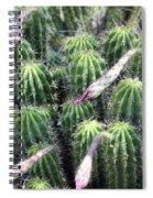 Cactus Drama Spiral Notebook