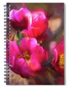 Cactus Flower 07-002 Spiral Notebook