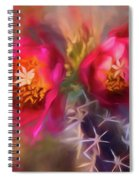 Cactus Flower 07-003 Spiral Notebook