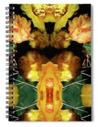 Cactus Flower 08-005 Abstract Spiral Notebook