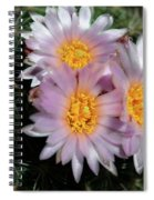 Cactus Flower Spiral Notebook