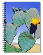 Cactus Flower Spiral Notebook