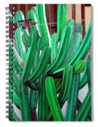 Cactus Fly By Spiral Notebook