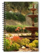 Cactus Fountain Spiral Notebook