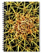 Cactus From Top Spiral Notebook