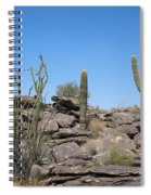 Cactus Land Spiral Notebook