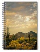 Cactus Morning Spiral Notebook