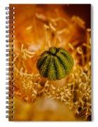 Cactus Pistil Spiral Notebook