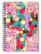 Cactus Pop Art Spiral Notebook