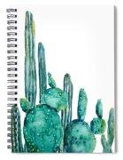 Cactus Watercolor 1 Spiral Notebook