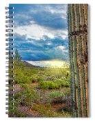 Cactus With Teeth Spiral Notebook