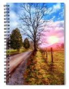 Cades Country Lane Spiral Notebook