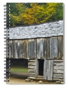Cades Cove Barn Spiral Notebook