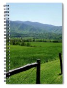 Cades Cove View Spiral Notebook
