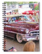 Cadillac Coupe Deville Spiral Notebook