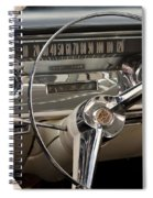 Cadillac Dash Spiral Notebook