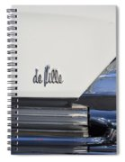 Cadillac De Ville Spiral Notebook