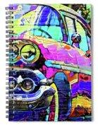 Cadillac Devil Spiral Notebook