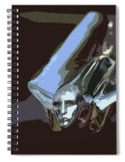 1949 Cadillac Hood Ornament Spiral Notebook