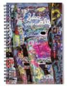 Cadillac Ranch Afternoon II Spiral Notebook
