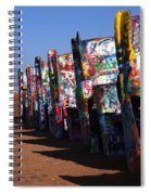 Cadillac Ranch Route 66 Spiral Notebook