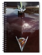 1949 Cadillac La Salle - Hood Ornaments Spiral Notebook