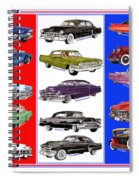15 Cadillacs The Poster Spiral Notebook