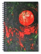 Cadmium And Green Spiral Notebook