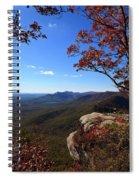 Caesars Head State Park In Upstate South Carolina Spiral Notebook