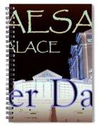 Caesars Palace After Dark Spiral Notebook