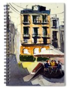 Cafe Aromatic Spiral Notebook