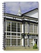 Cafe At The Pavilion Gardens - Buxton Spiral Notebook