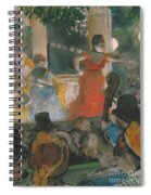 Cafe Concert At Les Ambassadeurs Spiral Notebook