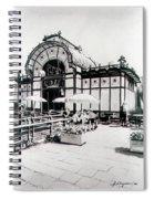 Cafe De Carl Spiral Notebook