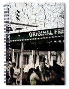 Cafe Du Monde Spiral Notebook