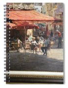 Cafe Et Pasteries Spiral Notebook