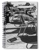 Cafe Hydrant Spiral Notebook