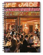 Cafe Jade Spiral Notebook