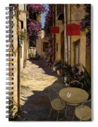 Cafe Piccolo Spiral Notebook