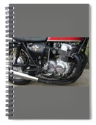 Cb750 Cafe Racer Spiral Notebook