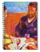 Cafe Renoir Spiral Notebook
