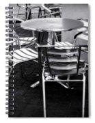 Cafe Seating Spiral Notebook