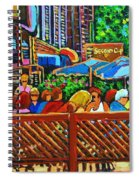 Cafe Second Cup Spiral Notebook